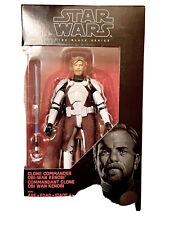Star Wars Black Series Clone Commander Obi Wan Kenobi. MINT Condition.