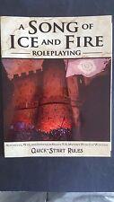 """RARO """"Cronache del ghiaccio e del fuoco"""" Quick Start regole RPG giorno GRATIS 2008 GN Ronin"""