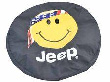 New Mopar 01-16 Jeep Wrangler Smiley Face Spare Tire Cover 33 X 12.50 Tires