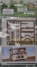 Ratio 224 Signal Box Interior (Plastic Kit) N Gauge Railway Model