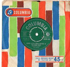 """The Avons - Seven Little Girls 7"""" Single 1959"""