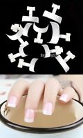 White 500 Pcs French Tips Nail Art Manicure Acrylic UV Gel Tool Decoration Bag