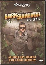 BORN SURVIVOR BEAR GRYLLS - ARIZONA SKY ISLANDS & RED ROCK COUNTRY DVD