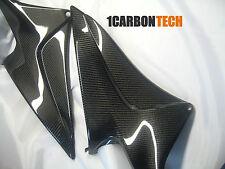 07 08 09 10 11 12 2010 2011 2012 HONDA CBR 600RR CARBON FIBER LOWER TANK PANELS