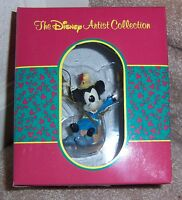 """DISNEY ARTIST COLLECTION """"MICKEY BRAVE LITTLE TAILOR"""" by THERESA MILLER Ornament"""