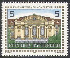 Austria 1988 SALA cineconcertistica edifici Architettura///MUSICA/ANIMAZIONE 1v (n33646)