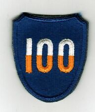 100th INFANTRY DIVISION PATCH FULL COLOR- FROM BOX 1962