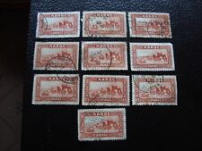 MAROC - timbre yvert et tellier n° 140 x10 obl (A29) stamp morocco (Z)