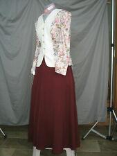 Victorian Dress Edwardian Costume Civil War Reenactment Style