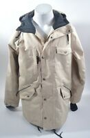 2014 MENS AIRBLASTER GRUMPY SNOWBOARD JACKET $240 M cream tan USED coat