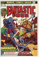 FANTASTIC FOUR #142 VF/NM 9.0 1ST APPEARANCE DARKOTH, DOCTOR DOOM CAMEO