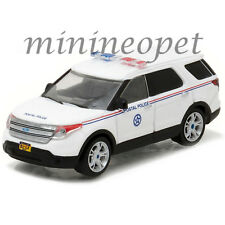 GREENLIGHT 35060 D BLUE COLLAR 2014 FORD EXPLORER USPS POSTAL POLICE 1/64 WHITE