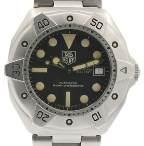 TAG Heuer WS2110-2 Super Professional Diver 1000M Black Dial 42mm Steel Watch