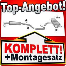 Auspuff VW GOLF PLUS 1.6 102PS Auspuffanlage K79B