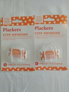 Pack of 2 Plackers Stop Grinding Dental guard Night Protector lot of 2