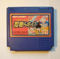 Ninjara Hoi! (Nintendo Famicom FC NES, 1990) Japan Import
