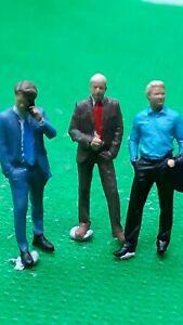 Scale 3D 00 gauge figures  handpainted men x 3 office workers