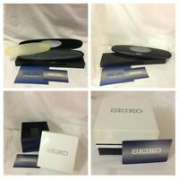 VINTAGE Old Stock SEIKO Branded Empty Watch Box With Guarantee 2 Designs