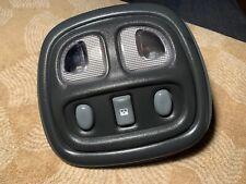 2000 Pontiac Grand Prix GT OEM interior dome light and sunroof control switch