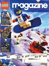 LEGO Magazine Publication Playbook of Lego Club 2003 Greeting From Space Toa