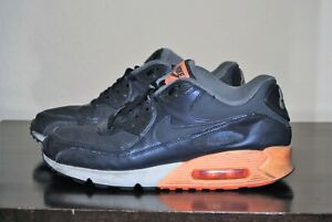 Nike Air Max 90 Premium Dark Obsidian Sneaker Gr. 45 333888-402 stark gebraucht