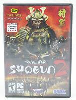 Total War: Shogun 2 PC 2011 Complete In Box Best Buy Exclusive Edition