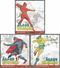 Finnland-Aland 342-344 (kompl.Ausg.) postfrisch 2011 Comichelden