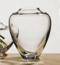 BIG NEW STEUBEN glass TOLIKAN VASE crystal bowl Navajo Native American form Hopi
