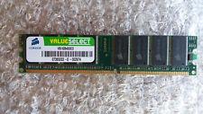 Corsair ValueSelect 1 GB DDR SDRAM, PC-3200, DDR-400, 2.5 V, VS1GB400C3