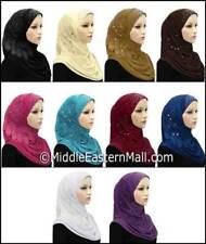 Wholesale Hijabs Amira Arab Hijab - Lot 10 Hijabs D-C 10 Colors one of each