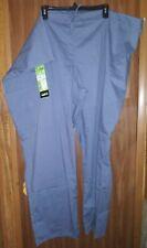 New listing Nwt Scrubstar Unisex Gray Drawstring Scrub Pants Sz 3Xl