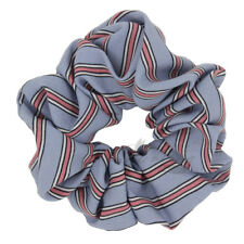 1X Striped Hair Scrunchies for Women Hair Accessories Elastic Hair Bands Pontail