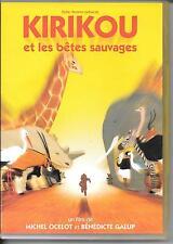 DVD ZONE 2--KIRIKOU ET LES BETES SAUVAGES--MICHEL OCELOT