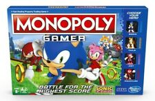 MONOPOLY GAMER SONIC THE HEDGEHOG *BNIB* HASBRO GAMING SEGA