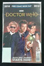 Doctor Who FCBD Free Comic Book Day 2018 VF BBC Titan Comics Unstamped