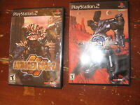 CIB LOT of 2 Playstation PS2 Armored Core 2 & 3 Games w/ case & instructions