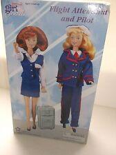 Forever Girl Friends Flight Attendant and Pilot DSI 2000