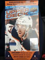 "2020-2021 Upper Deck Hockey Series 1 Blaster Box retail ""In Hand"" + 1 Oversized"