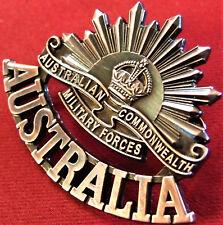 *ANZAC WW1 & WW2 RISING SUN COMMEMORATIVE UNIFORM BADGE MEDALS AUSTRALIA AIF*