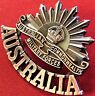 *ANZAC WW1 & WW2 RISING SUN COMMEMORATIVE UNIFORM BADGE MEDALS AUSTRALIA AIF*