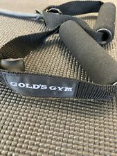 Golds Gym Resistance Exercise/Workout Band-Pre-owned. Black