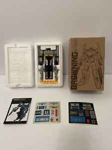 Transformers G1 Browning M-1910 KO New