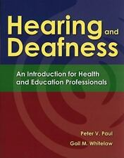 Hearing and Deafness: An Introduction for Health and Education-ExLibrary