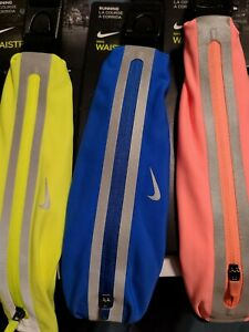 NIKE Slim Running Waist Pack Adjustable ~multiple colors ~ Unisex