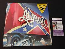 Randy Owen Signed Album Cover JSA Alabama Country Singer Roll On