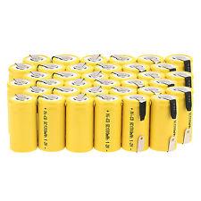 36 X 1.2V 1300mAh Sub C SC NI-CD NICD batteria ricaricabile -GIALLO