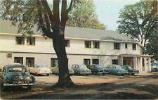Automobiles Kalamazoo Michigan New Fellowship Center Postcard Dexter 21-441