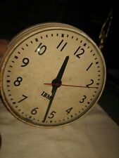 VINTAGE 1950s IBM SELF REGULATING WALL CLOCK FOR PARTS OR RESTORATION ONLY 22 NY