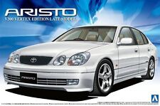 Aoshima 12192 Toyota Jzs161 Aristo V300 Vertex Edition Late Model 1/24 scale kit
