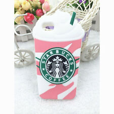 3d Cartoon Disney Silicone Soft Kids Cover Case for iPhone 7 7p iPod Touch 4 5 6 Pink Starbucks iPhone 5c